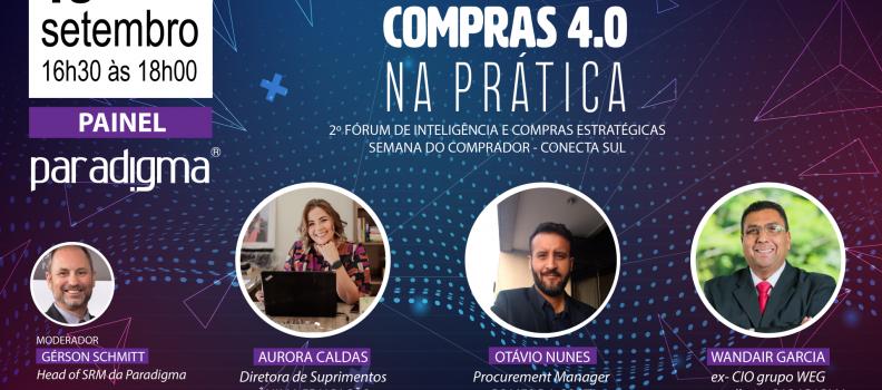 Workshop Compras 4.0 na Prática – Painel – 18 de setembro de 2020