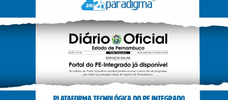 Portal do PE-Integrado reúne as principais áreas de negócio de Pernambuco